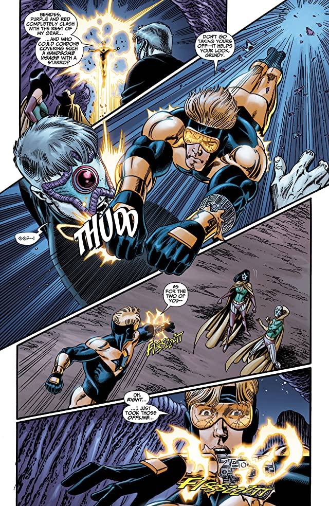 click for super-sized previews of Booster Gold (2007-2011) #14