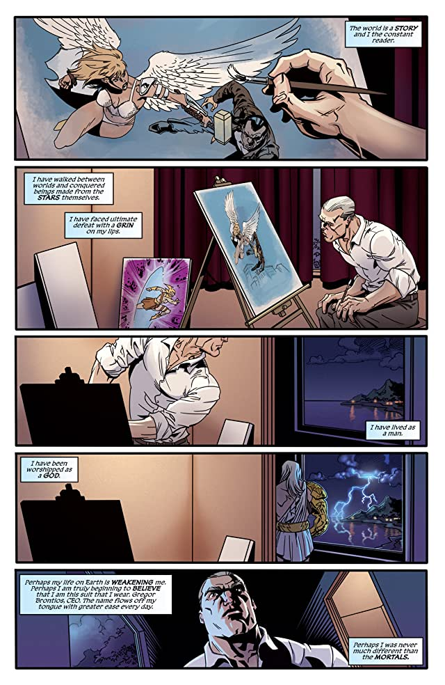 click for super-sized previews of Godstorm #0