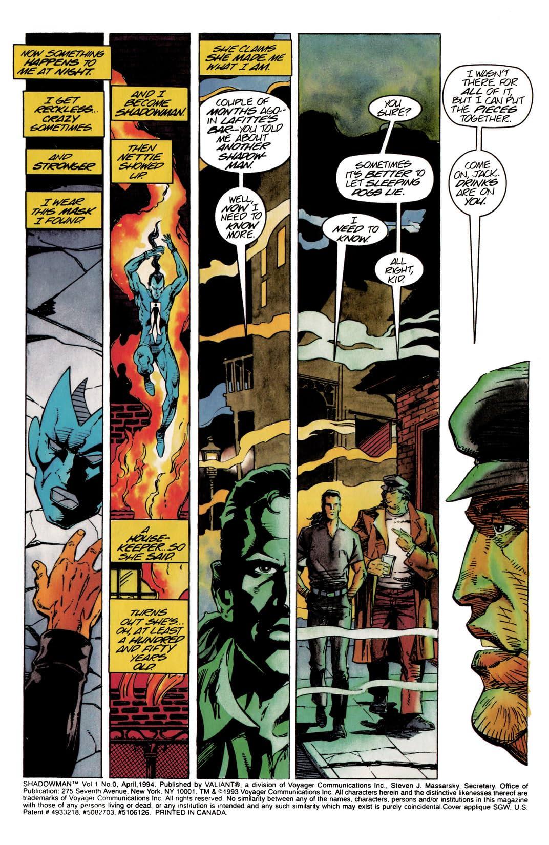 Shadowman (1992-1995) #0