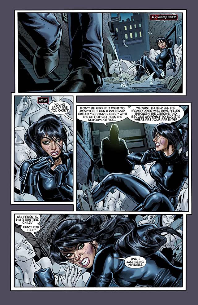 click for super-sized previews of Catwoman (2011-) #0
