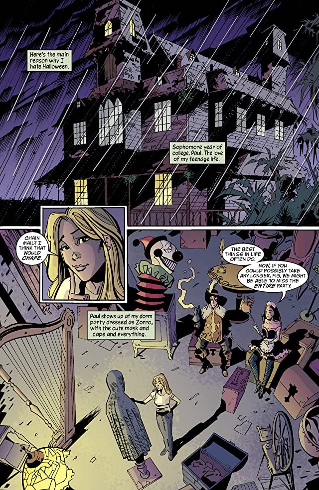 click for super-sized previews of House of Mystery (2008-2011) #1: Halloween Annual
