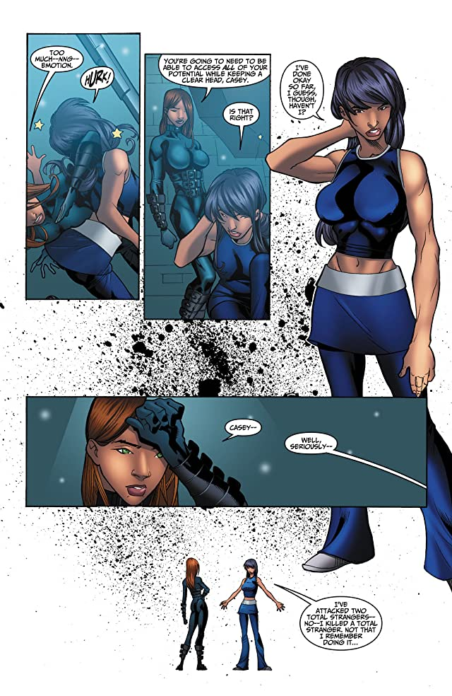 click for super-sized previews of Casey Blue: Beyond Tomorrow #4