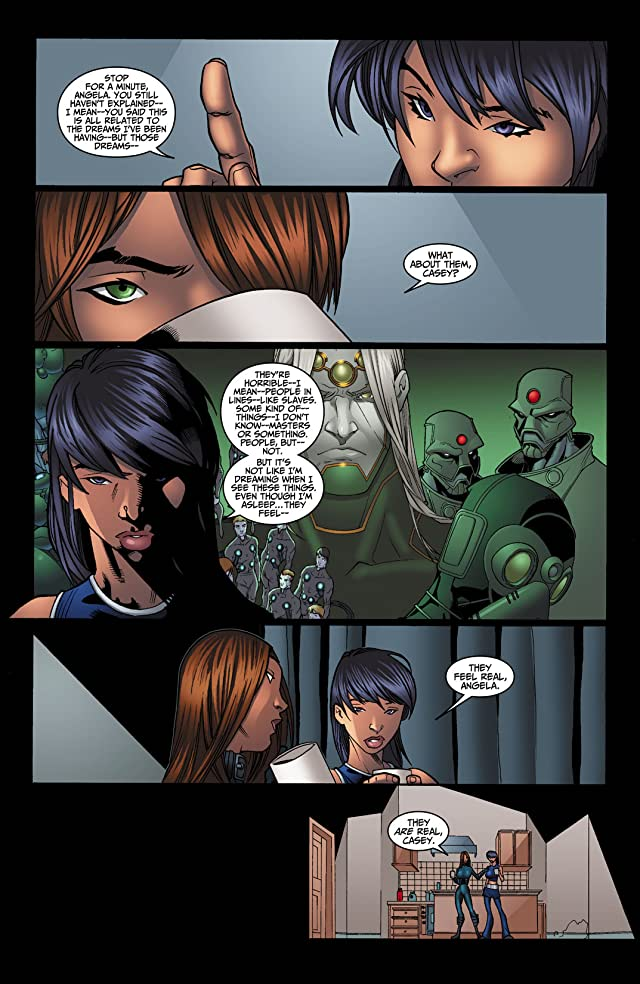 click for super-sized previews of Casey Blue: Beyond Tomorrow #4 (of 6)