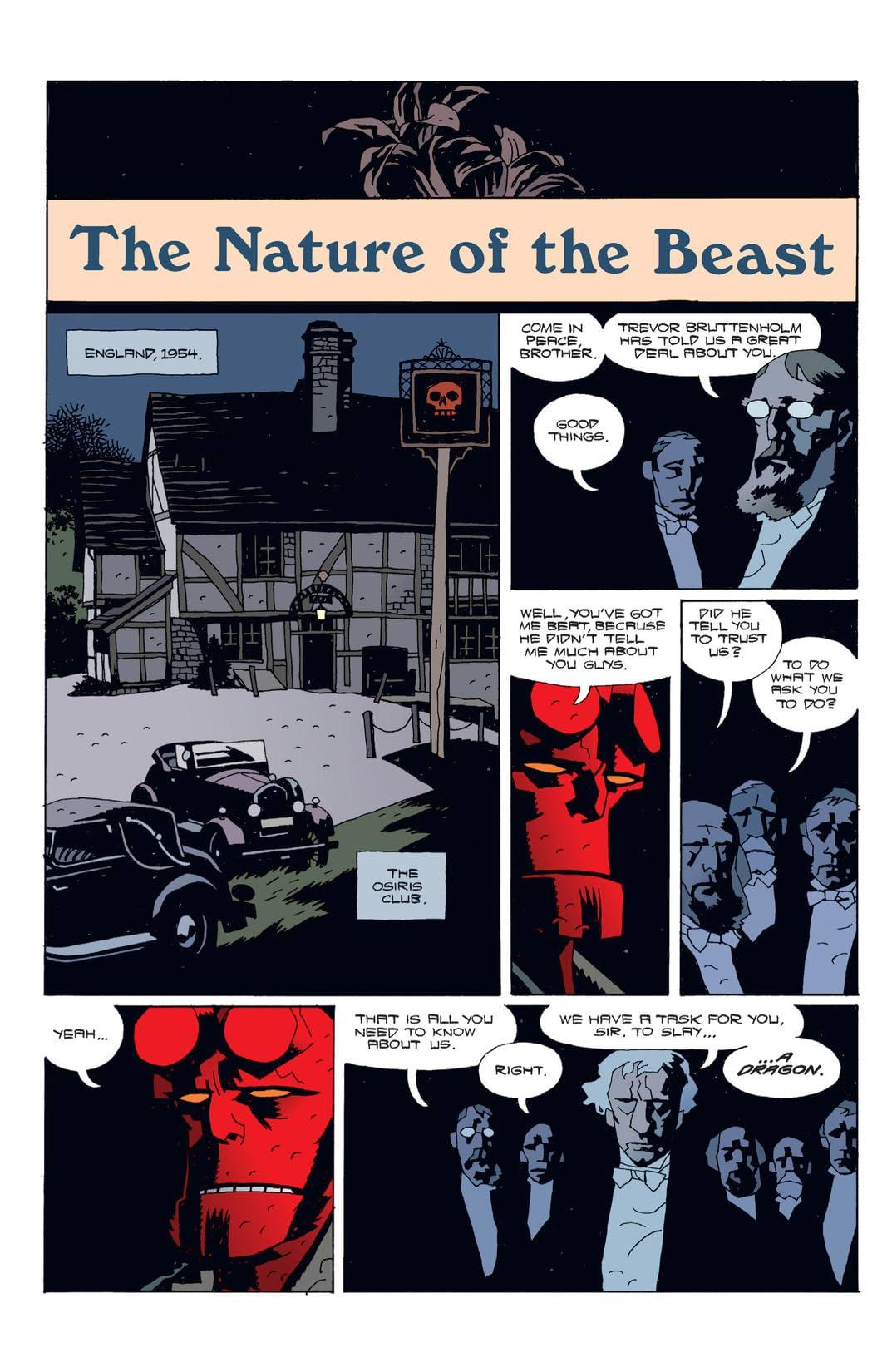 Hellboy Vol. 4: The Right Hand of Doom
