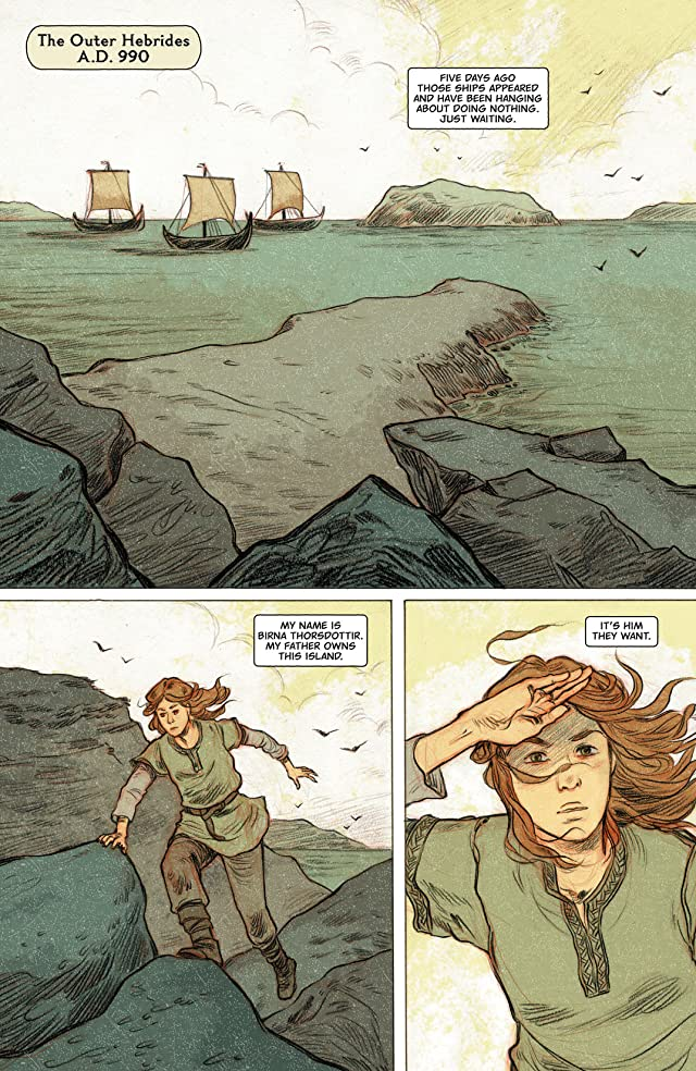 click for super-sized previews of Northlanders #41