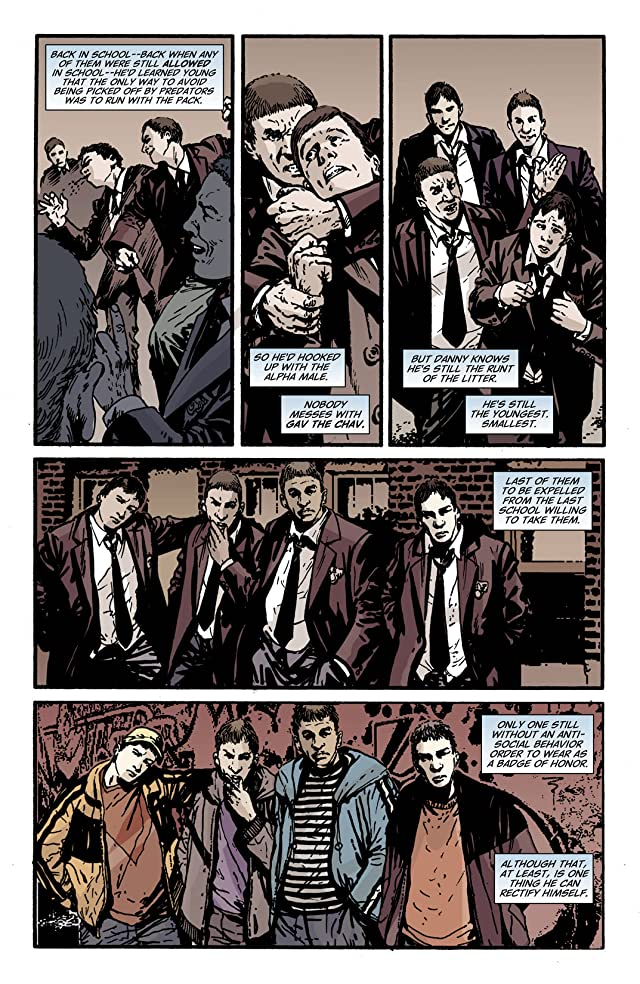 click for super-sized previews of Hellblazer #234