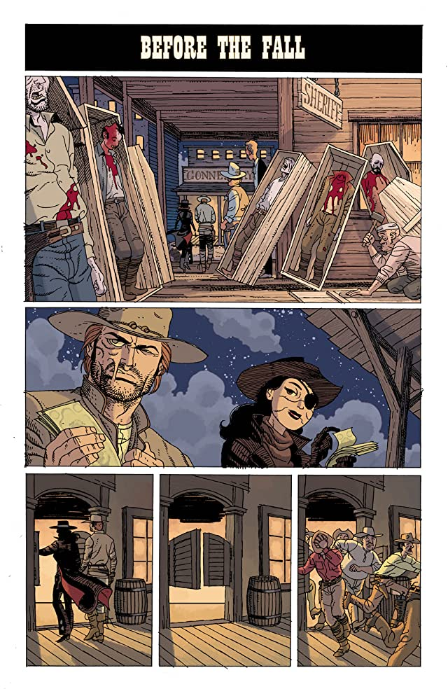 click for super-sized previews of Jonah Hex (2006-2011) #50