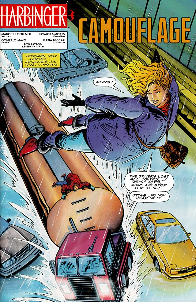 click for super-sized previews of Harbinger (1992-1995) #17