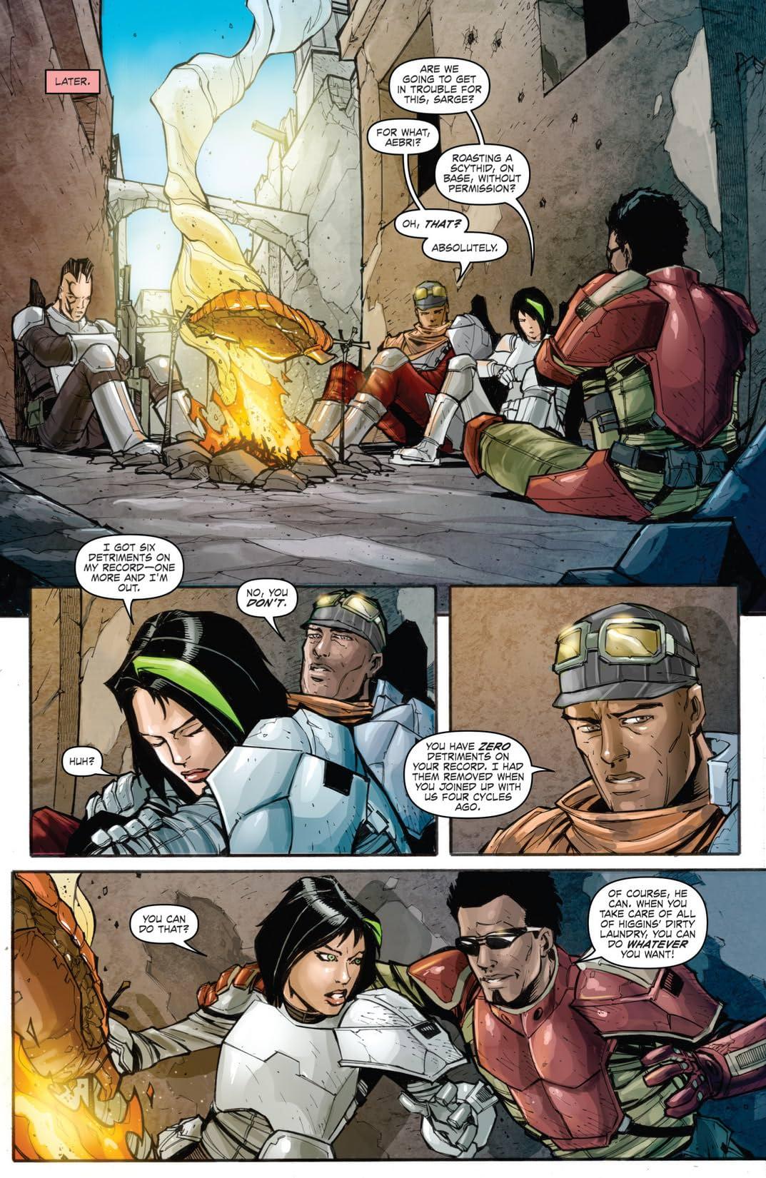 Borderlands: Origins #1 (of 4)