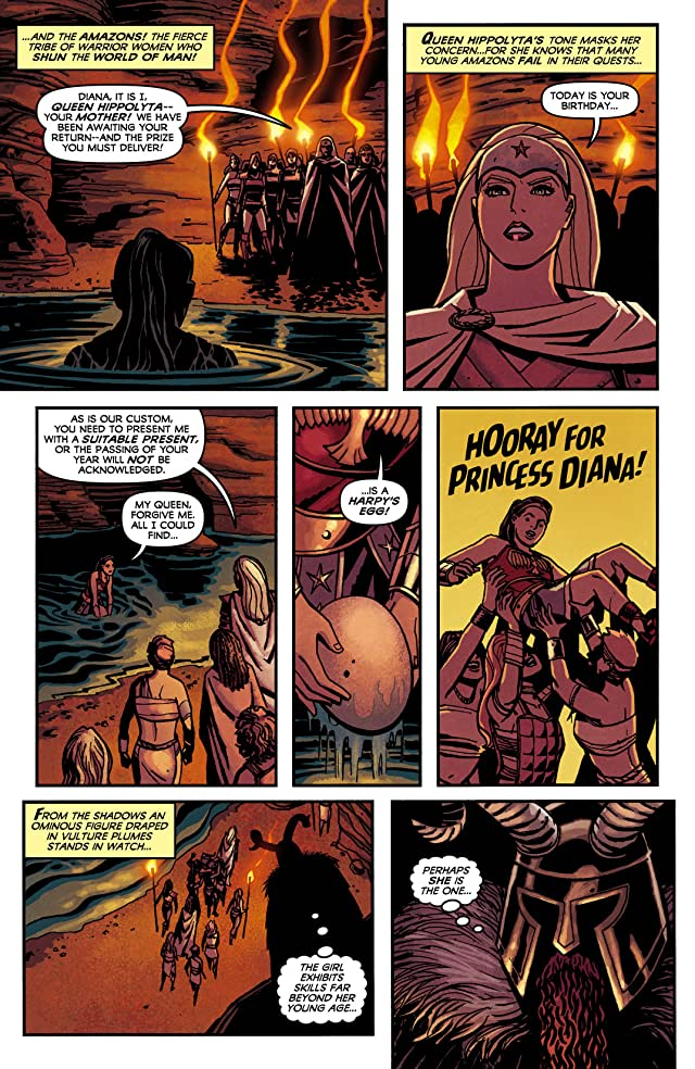 click for super-sized previews of Wonder Woman (2011-) #0