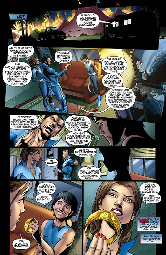 click for super-sized previews of Nightwing (2011-2014) #0