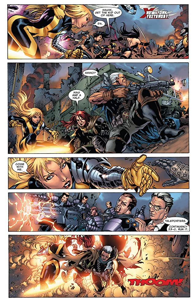 click for super-sized previews of X-Men: Hellbound #1