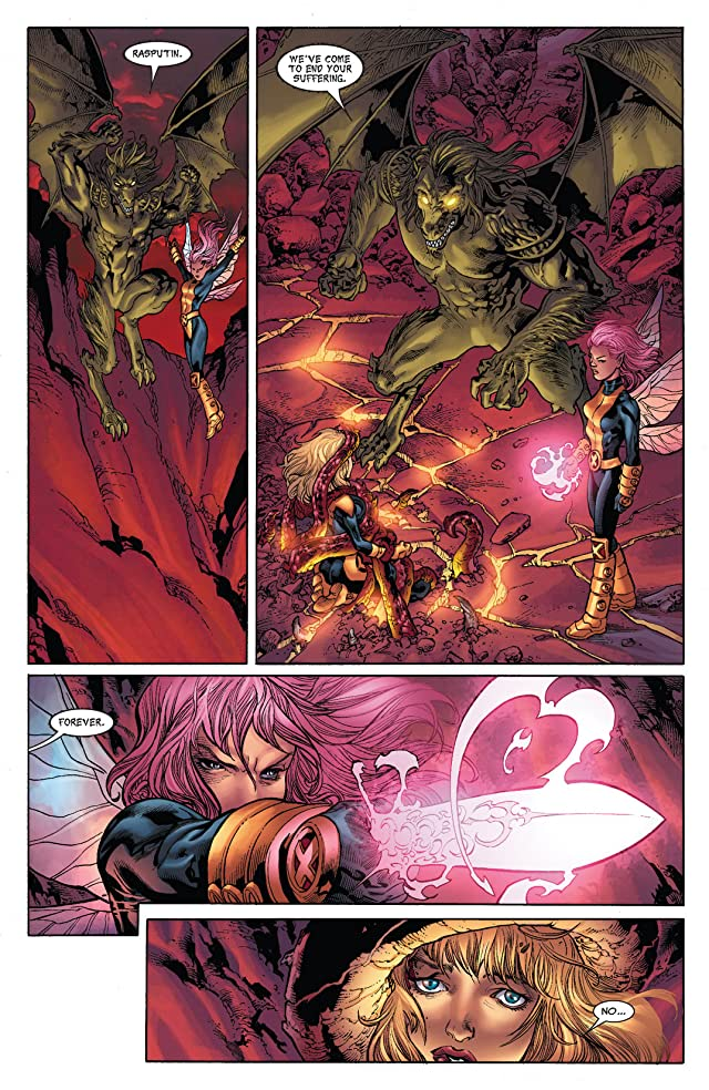 click for super-sized previews of X-Men: Hellbound #3