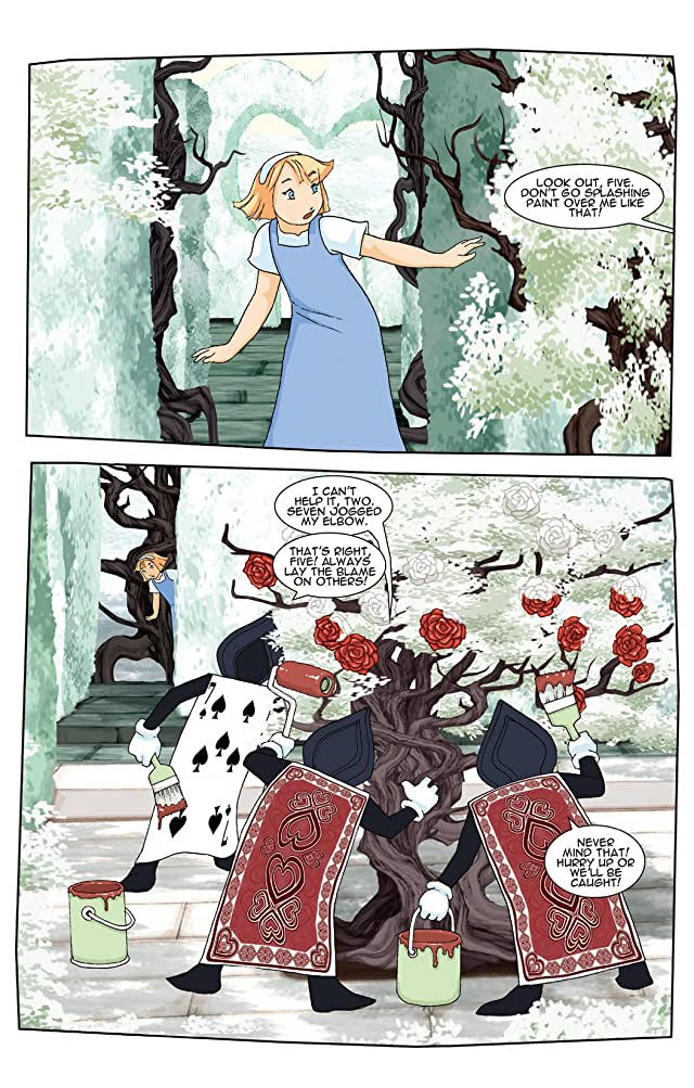 New Alice In Wonderland #4