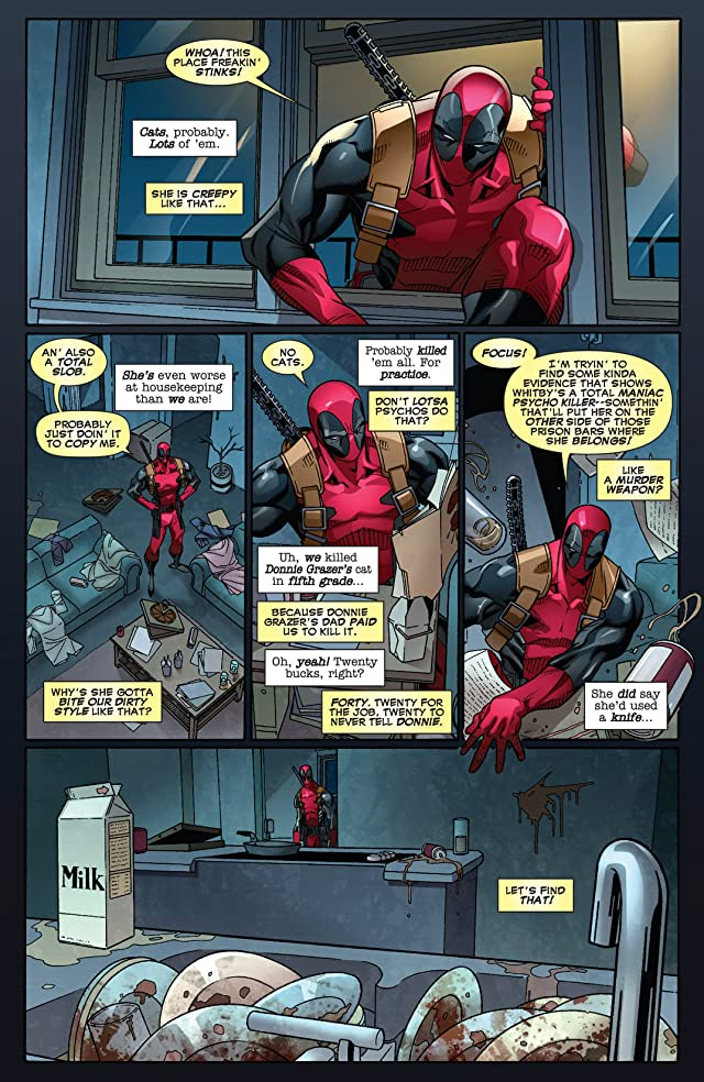 click for super-sized previews of Deadpool (2008-2012) #44