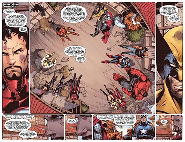 click for super-sized previews of Avengers vs. X-Men #12 (of 12)