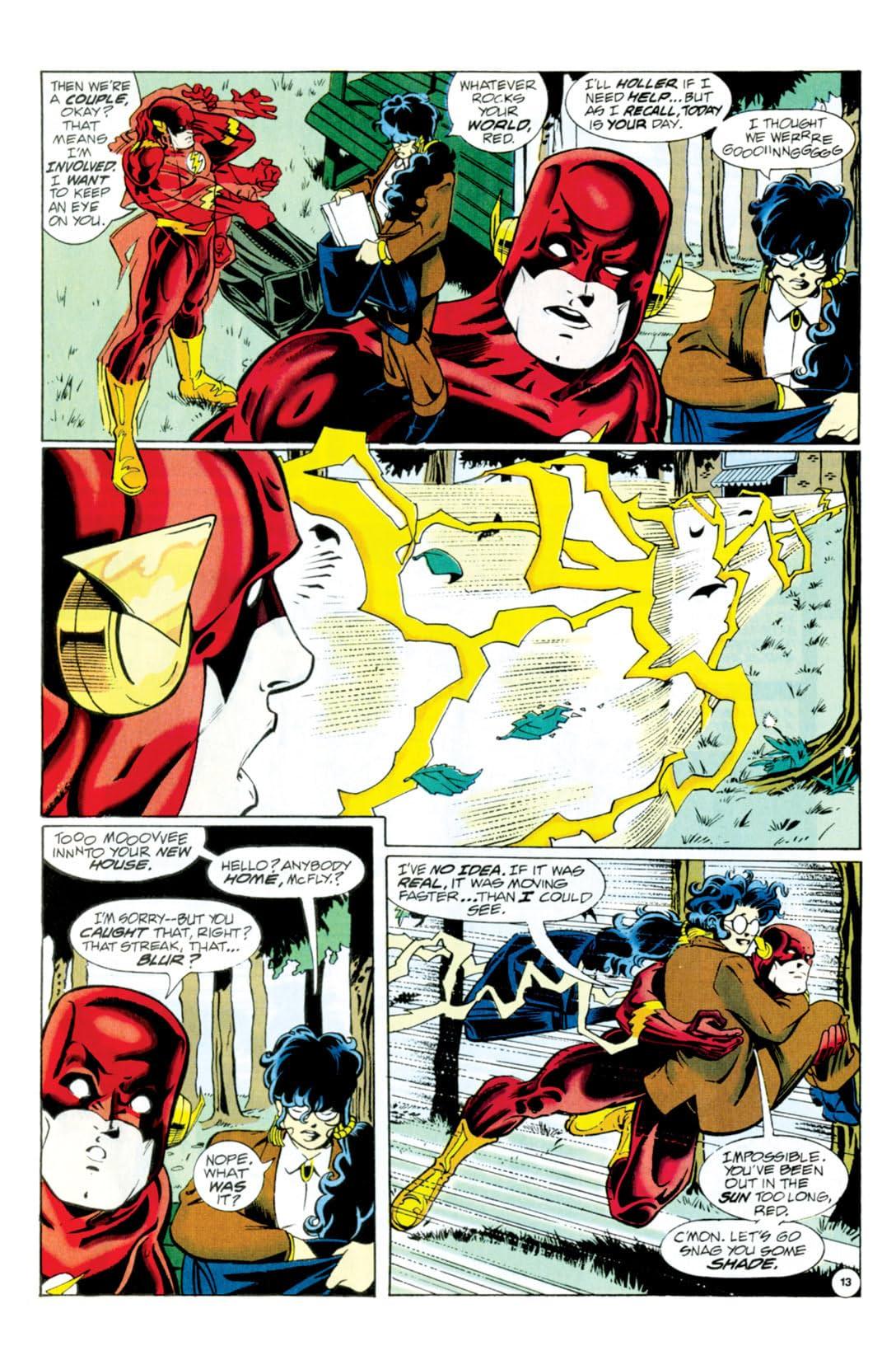 The Flash (1987-2009) #92