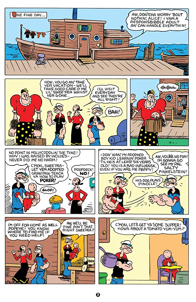 click for super-sized previews of Popeye #5