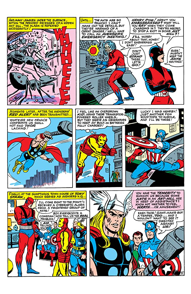 click for super-sized previews of Avengers (1963-1996) #12