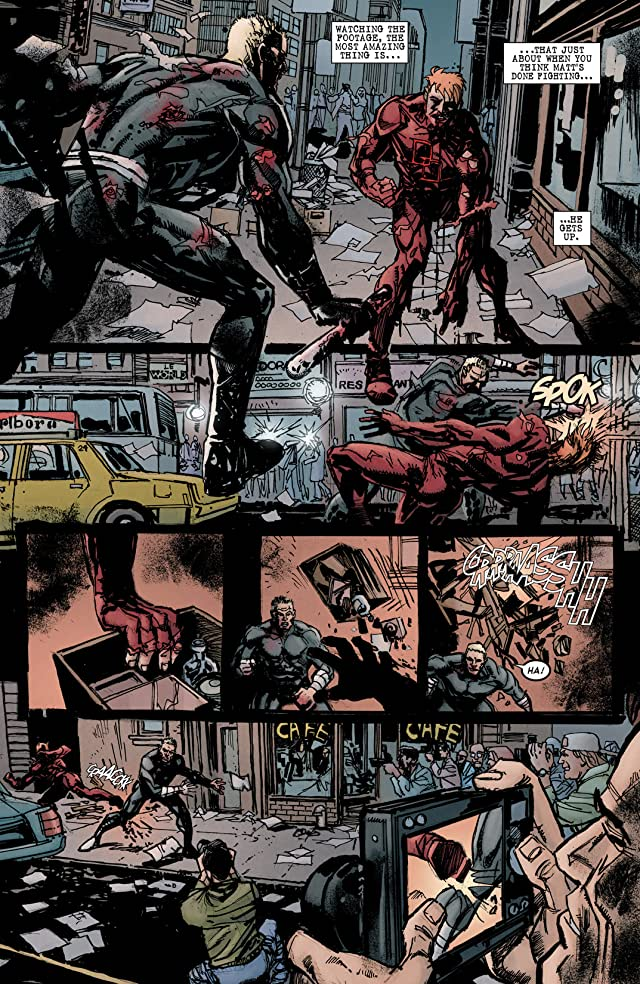 click for super-sized previews of Daredevil: End of Days #1