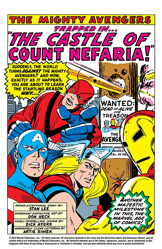 click for super-sized previews of Avengers (1963-1996) #13