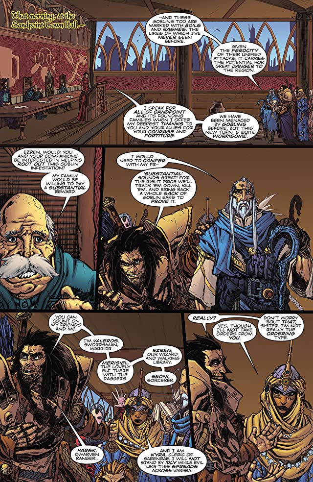 click for super-sized previews of Pathfinder #2