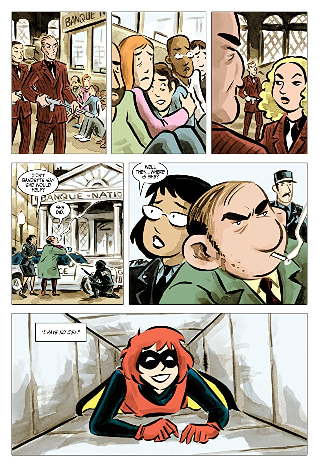 click for super-sized previews of Bandette #2