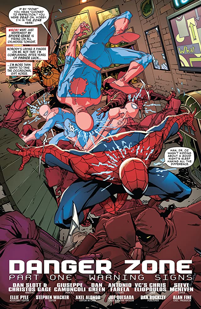 Amazing Spider-Man (1999-2013) #695