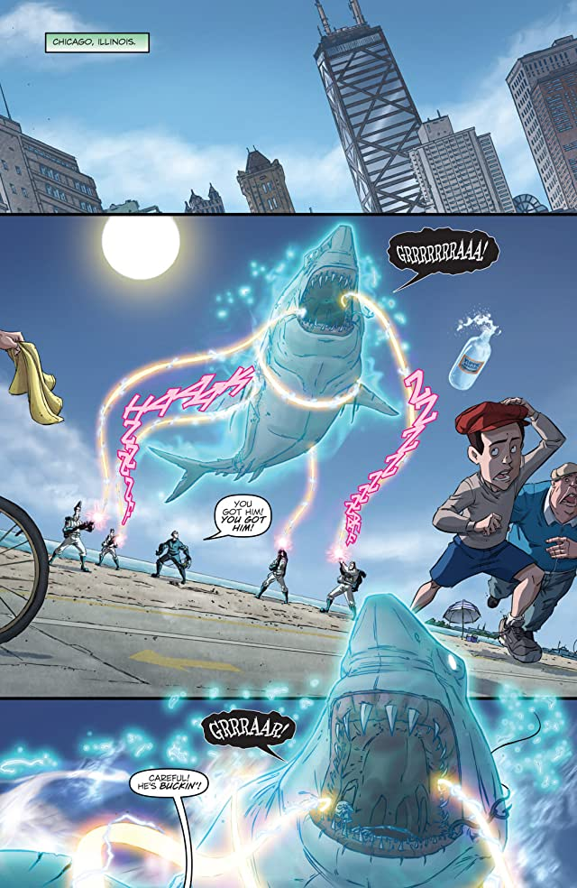 click for super-sized previews of Ghostbusters (2011-2012) #13