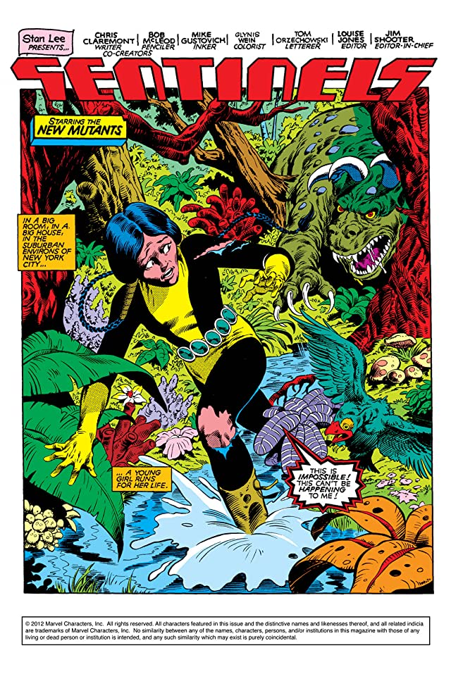 click for super-sized previews of New Mutants (1983-1991) #2
