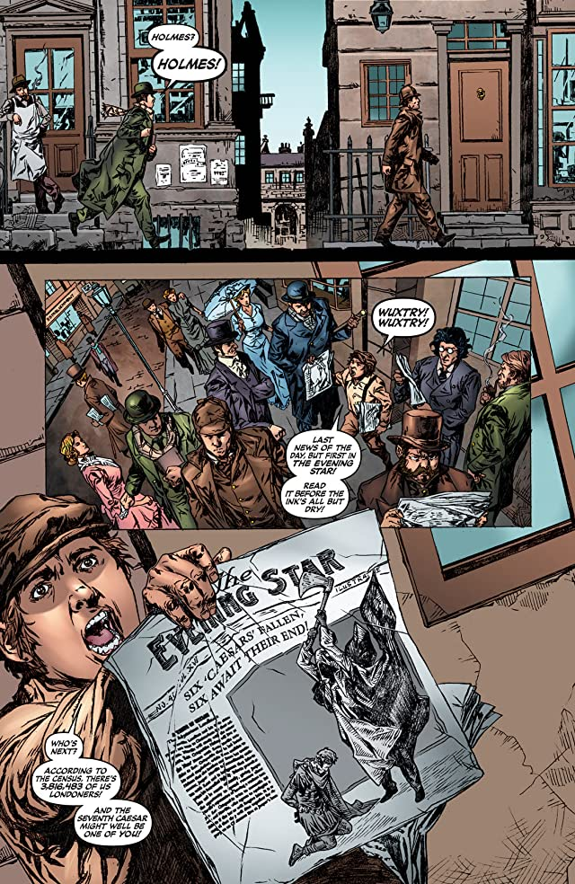 click for super-sized previews of Sherlock Holmes: Year One #4
