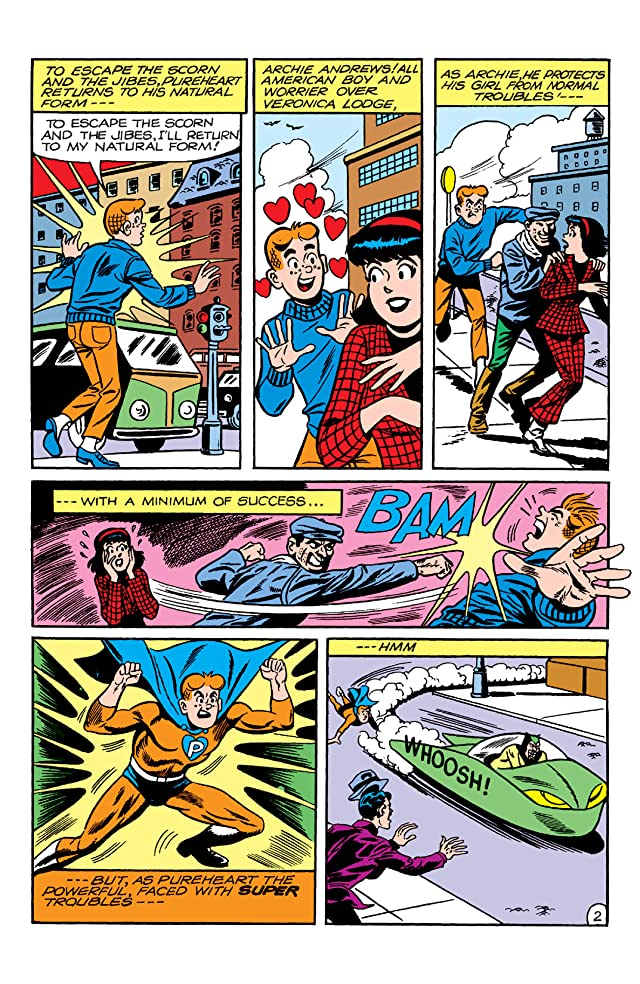 click for super-sized previews of PEP Digital #23: Archie's Super Teens