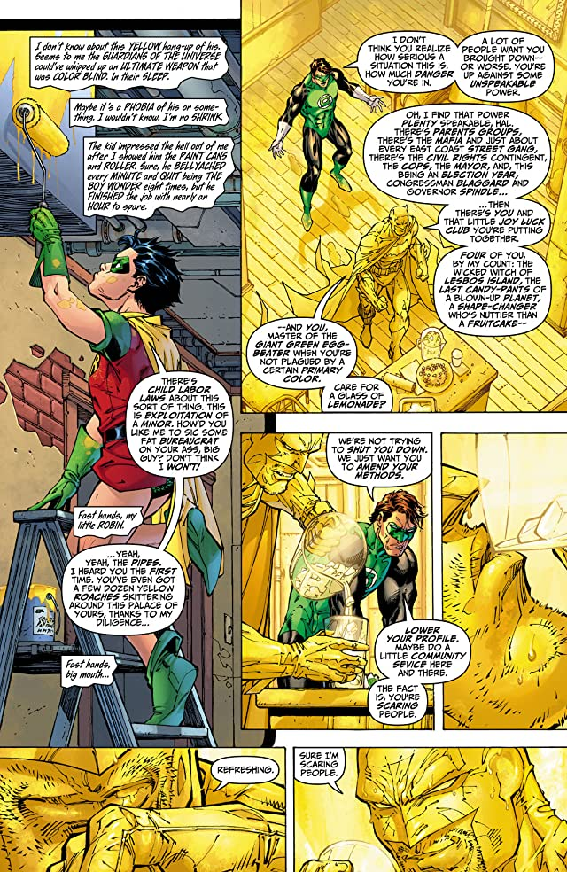 click for super-sized previews of All Star Batman and Robin, The Boy Wonder #9