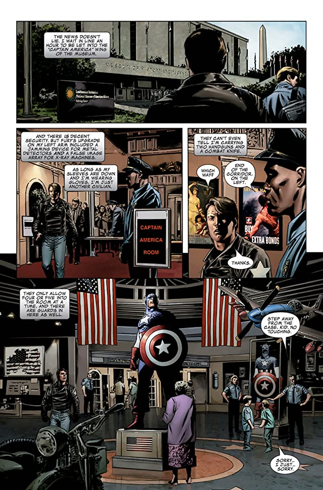 click for super-sized previews of Captain America (2004-2011) #27