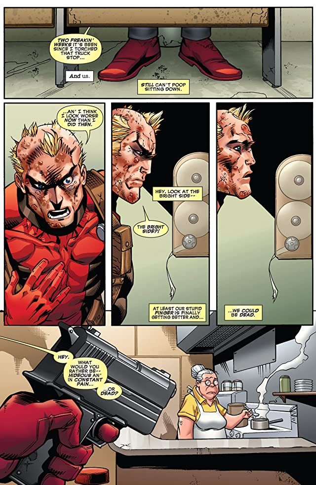 click for super-sized previews of Deadpool (2008-2012) #62