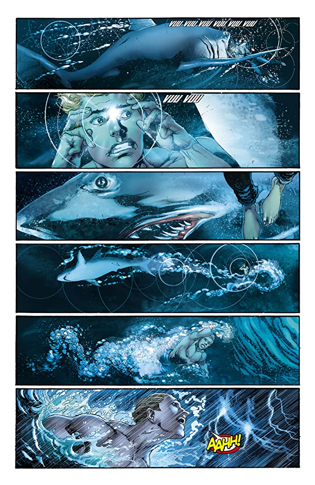 click for super-sized previews of Aquaman (2011-) #0