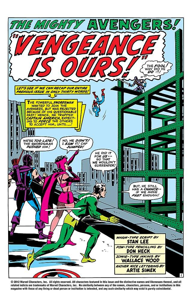 Avengers (1963-1996) #20