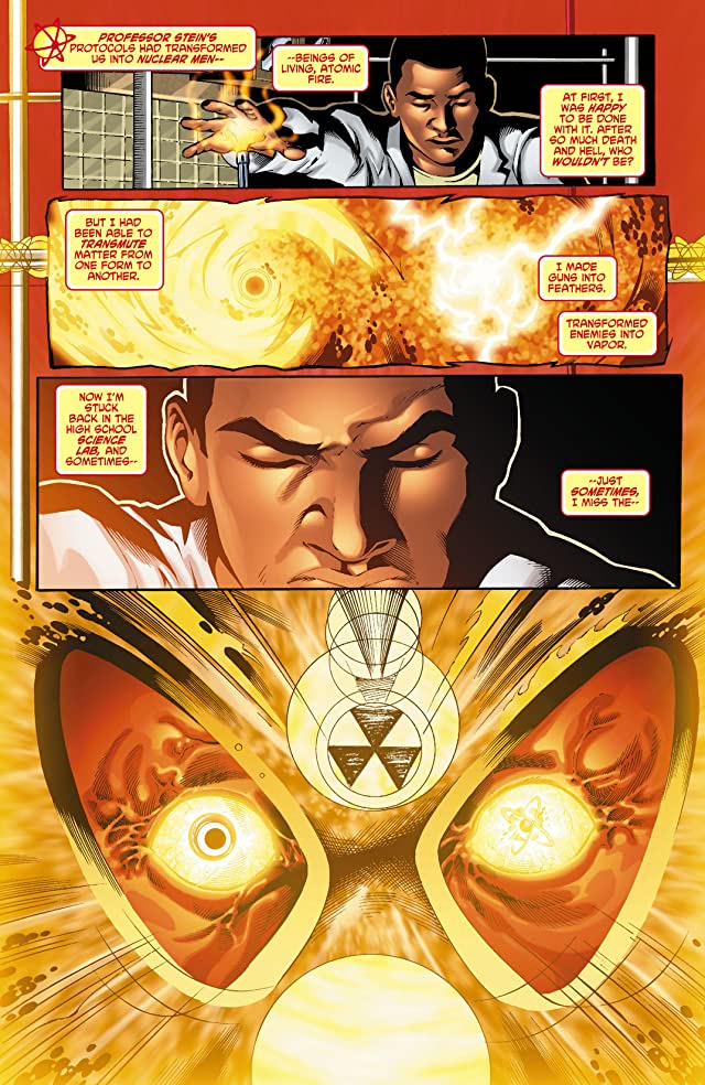 click for super-sized previews of The Fury of Firestorm: The Nuclear Men (2011-2013) #0