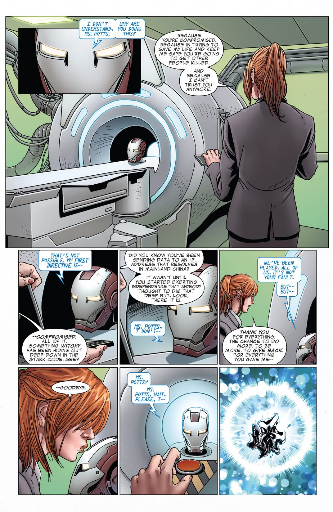 Invincible Iron Man (2008-2012) #526