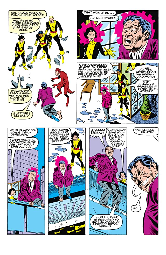 click for super-sized previews of New Mutants (1983-1991) #6