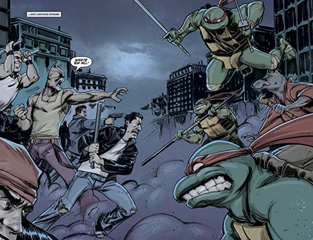 click for super-sized previews of Teenage Mutant Ninja Turtles #1