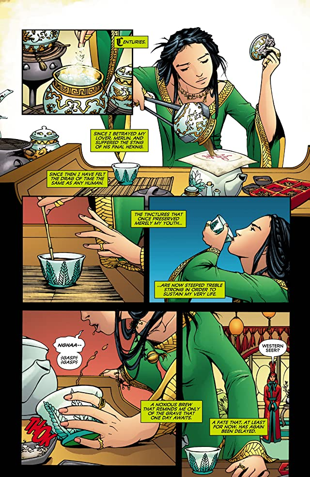 click for super-sized previews of Madame Xanadu (2008-2011) #3