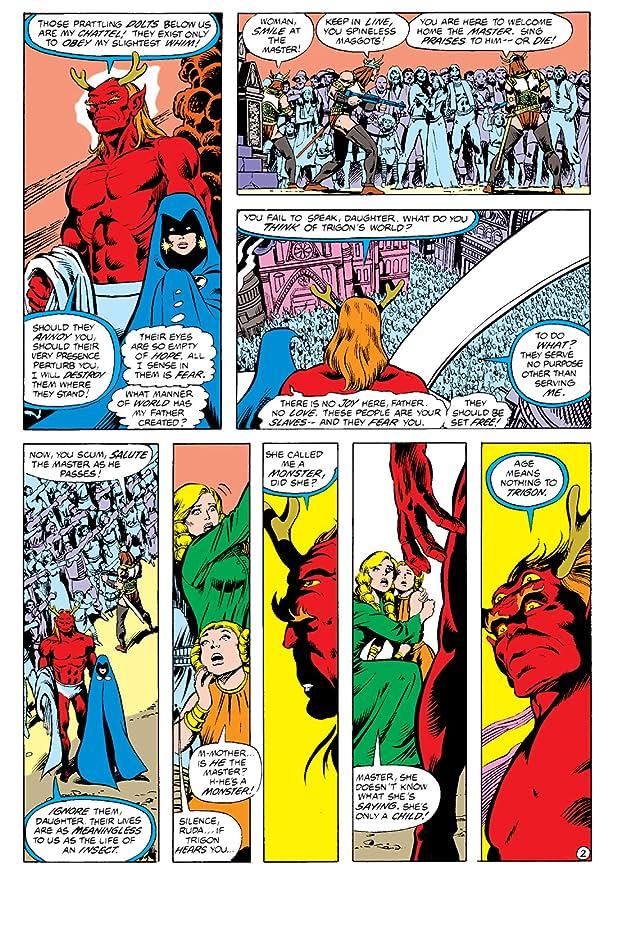 New Teen Titans (1980-1988) #6