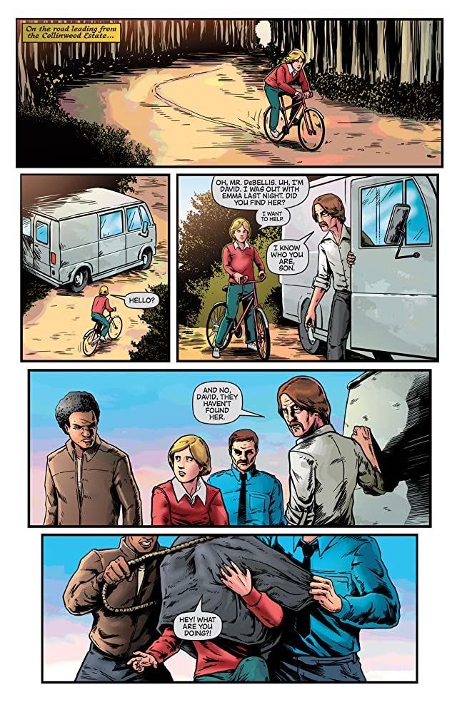 click for super-sized previews of Dark Shadows (Ongoing) #8