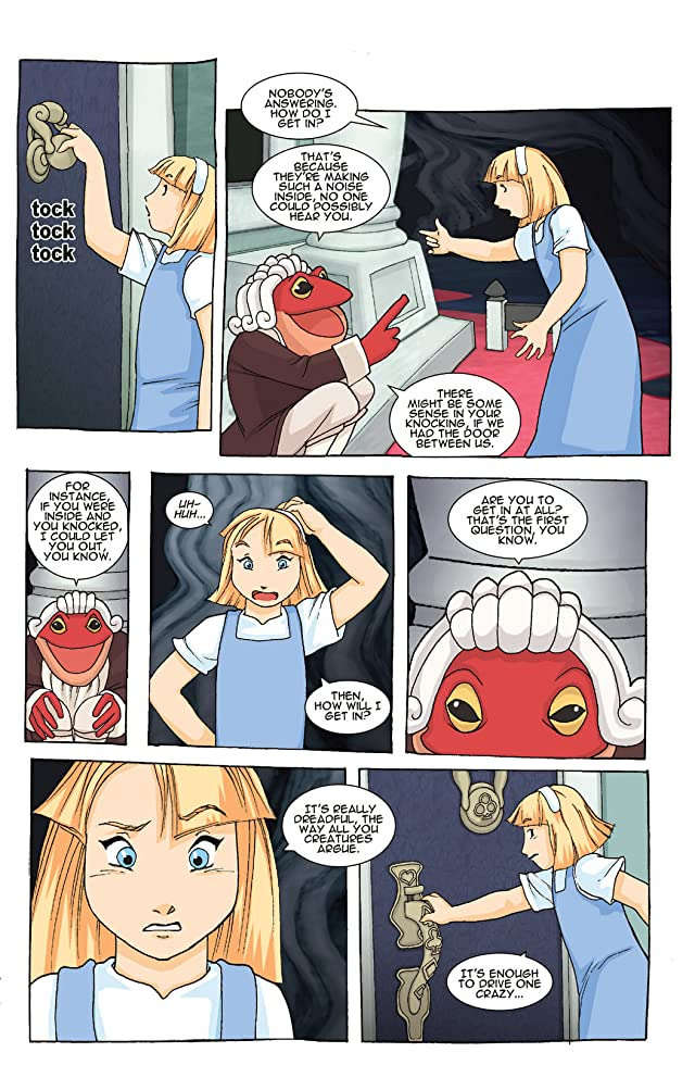 click for super-sized previews of New Alice In Wonderland #3