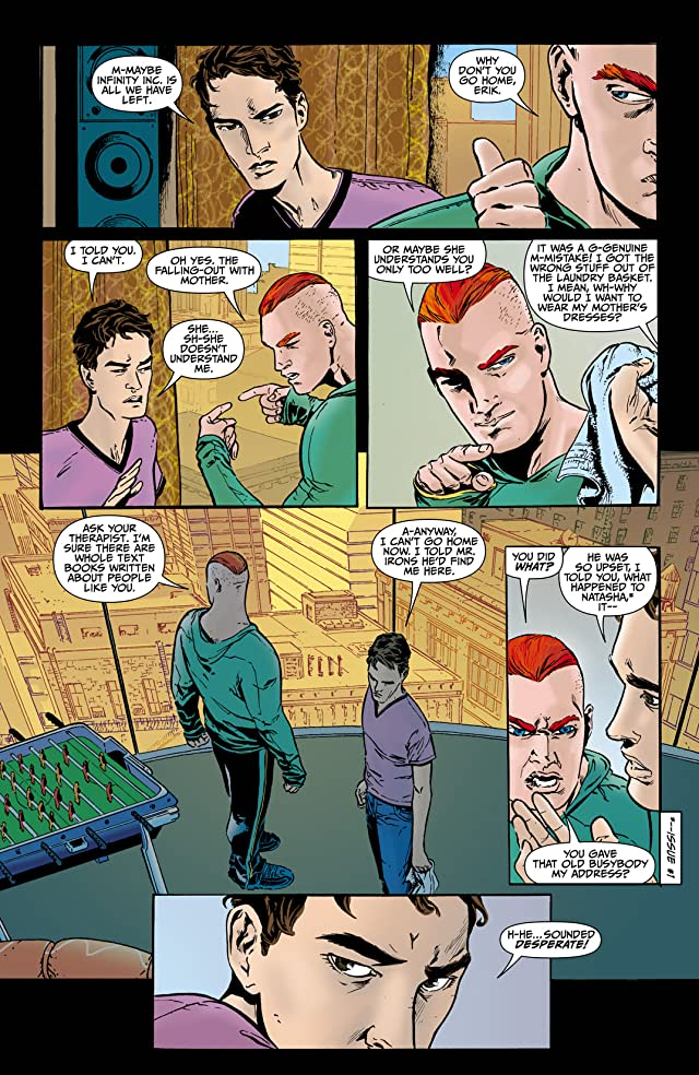 click for super-sized previews of Infinity Inc. (2007-2008) #2