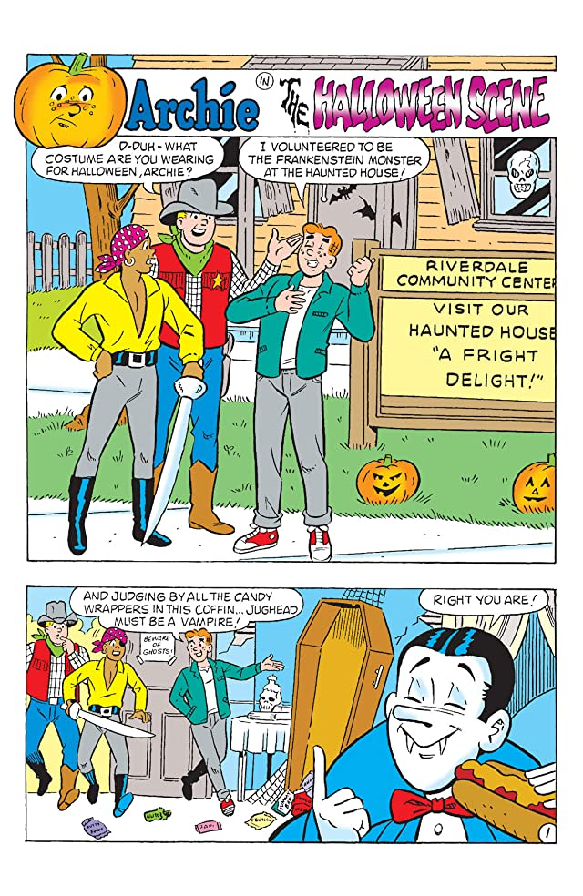 click for super-sized previews of Archie Halloween Blowout