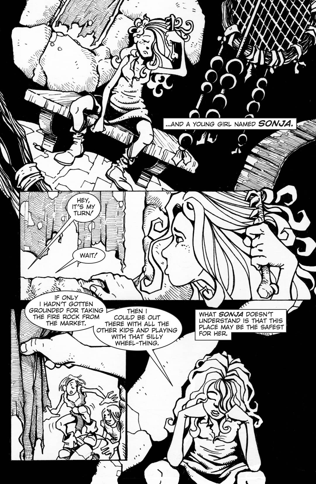 Dead Sonja: She Zombie With A Sword #1
