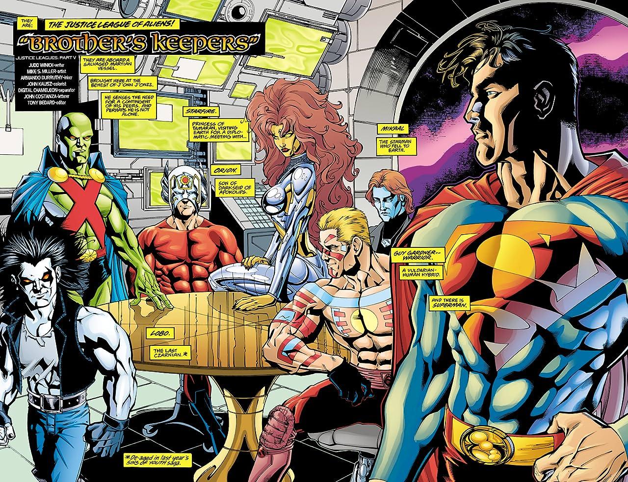 Justice Leagues (2001) #1: Justice League of Aliens