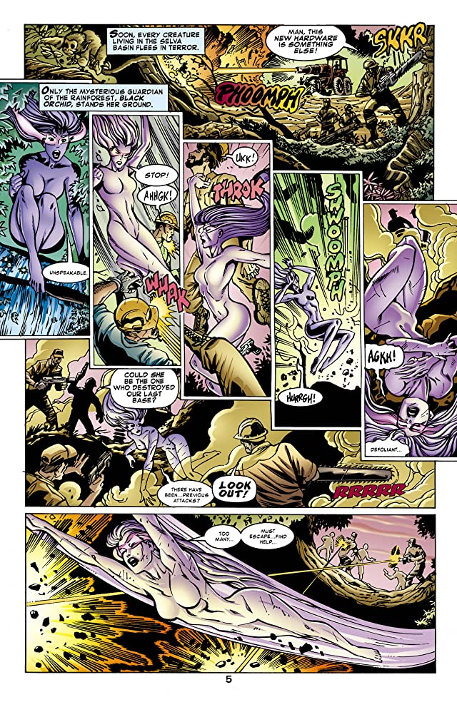 click for super-sized previews of Justice Leagues (2001) #1: Justice League of Amazons